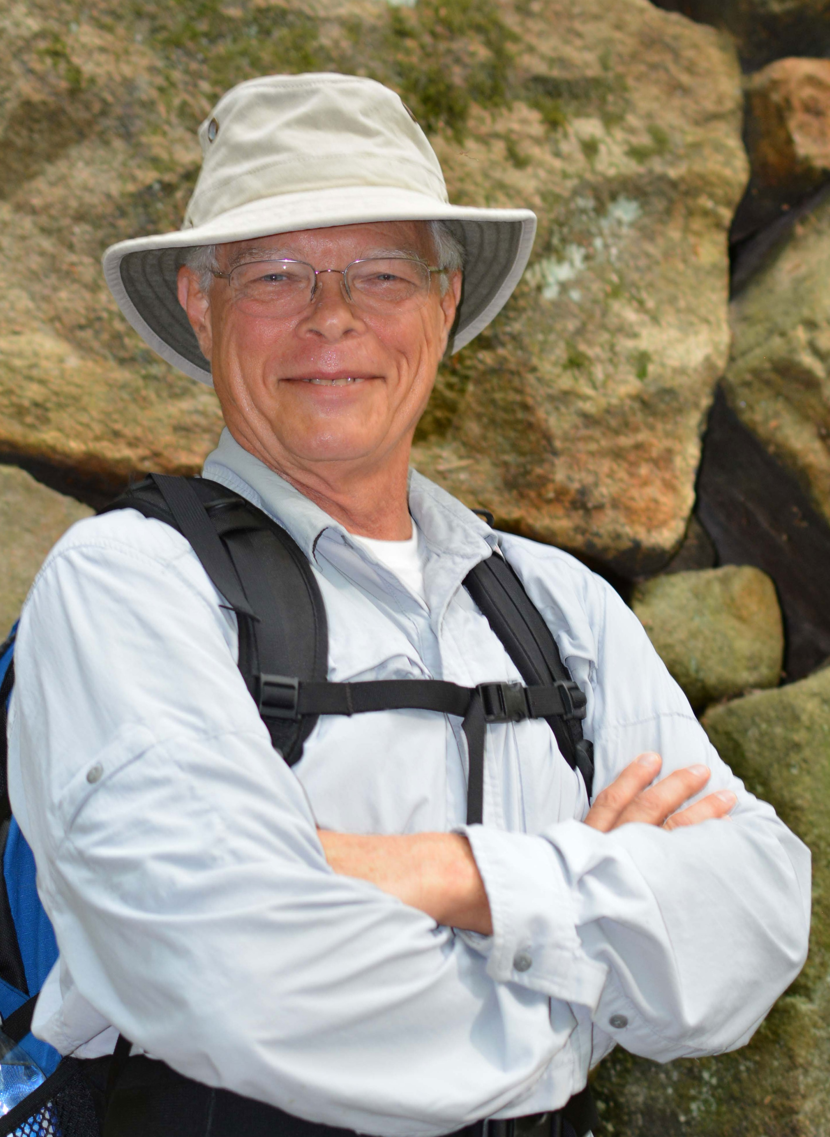 James Klopovic, Author and hiking expert